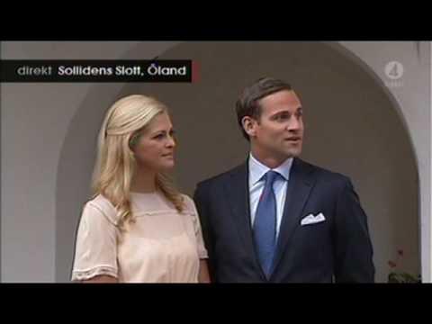 Prinsessan Madeleine och Jonas berättar om förlovningen