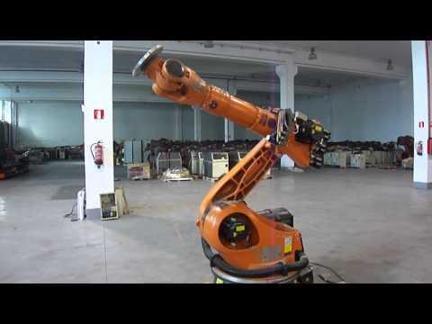 Kuka KR180 Series 2000 industrial robot at reprobots
