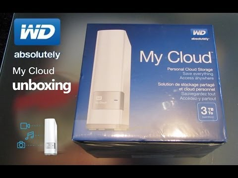 WD MY CLOUD UNBOXING