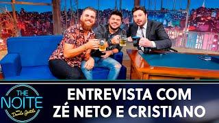 Entrevista com Zé Neto & Cristiano   The Noite (22/05/19)