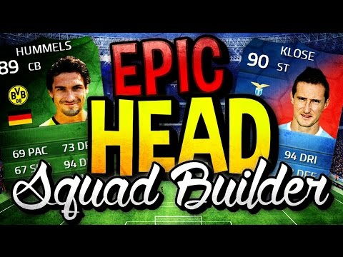 FIFA 14 ULTIMATE TEAM | UNSTOPPABLE HEADING SQUAD BUILDER | OMFG!!!!