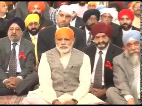 PM offers prayers, addresses gathering at Bhai Ganga Singh Sabha Gurudwara, Tehran