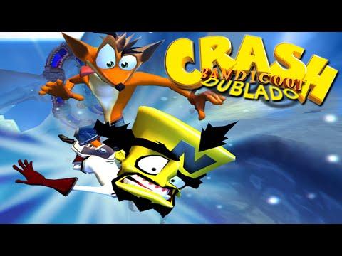Crash Bandicoot: Twinsanity - Dublado em Português (PT-BR) - Dr.Cortex X Crash (PS2)