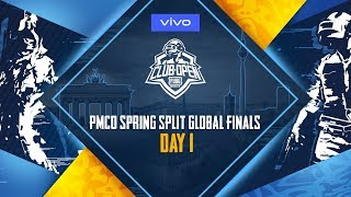 [Hindi] PMCO Global Finals Day 1 | Vivo | PUBG MOBILE CLUB OPEN