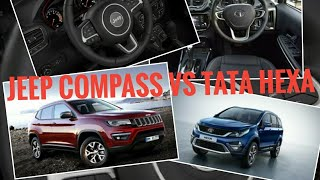 Jeep Compass Vs Tata Hexa: Comparison?