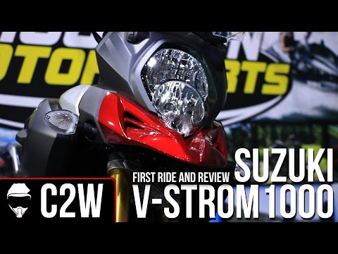 2015 Suzuki V-Strom 1000 - First Ride And Review