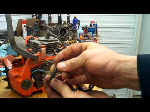 Husqvarna chainsaw fuel line check and replace