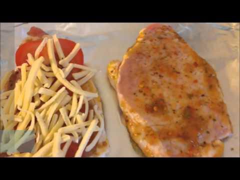 Кулинарный рецепт Второе мясо по купечески с грибами