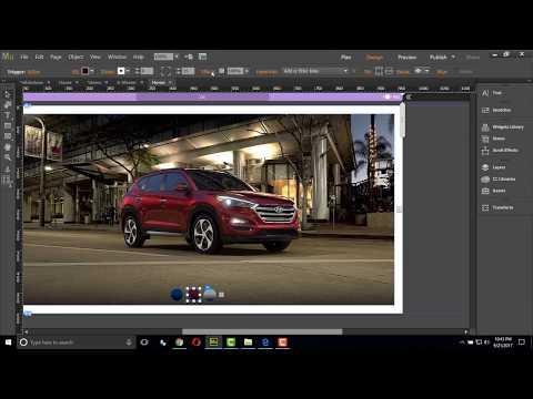 Cómo crear un slideshow para comercio electrónico Adobe Muse CC | Composición Widget / Tooltip
