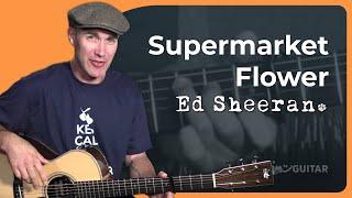 Download Lagu Ed Sheeran - Supermarket Flowers Guitar Lesson Tutorial - JustinGuitar Gratis STAFABAND