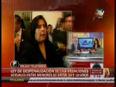 Declaraciones de la ministra de la Mujer Ana Jara - 22 Jun 2012