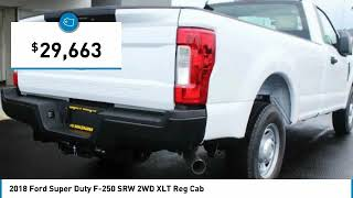 2018 Ford Super Duty F-250 SRW Holzhauer Auto and Motorsports Group C90809