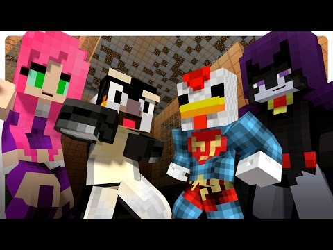 Teen Titans Prank The Atlantic Craft! (Minecraft Roleplay)