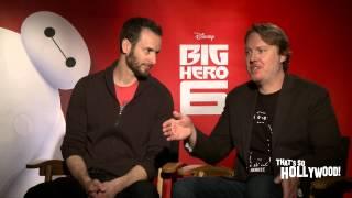 "Oscar Winning Film ""Big Hero 6"" Directors Chris Williams & Don Hall Talk Blu Ray Release"