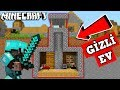 ZENGİN VS FAKİR HAYATI #66 - GİZLİ EV (Minecraft)