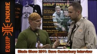 Dave Canterbury Interview, Blade Show 2011