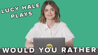 "Lucy Hale Takes The Toughest ""Would You Rather"" Quiz"