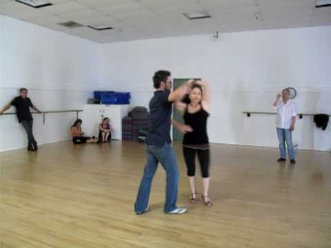 Tenia Raeni & Brent Jennings- Salsa Workshop Apr 24, 2010