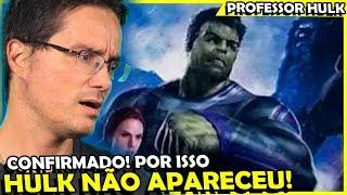 MARK RUFFALO CONFIRMA O MOTIVO DO HULK NÃO TER APARECIDO EM VINGADORES
