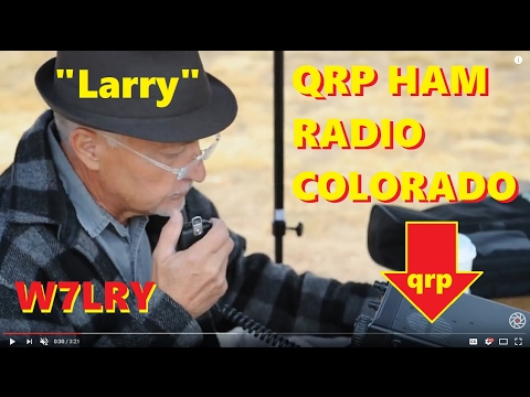 w7lry making qrp contacts ic-703 ham radio icom