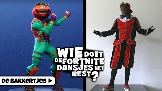 * FORTNITE CHALLENGE MET PARTY PIET PABLO EN LOVE PIET* - DE BAKKERTJES #163