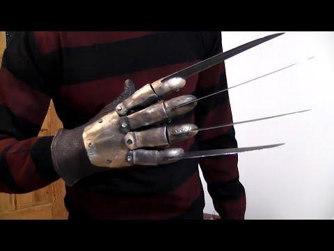 Как сделать перчатку Фредди Крюгера из ножей (2 часть)
