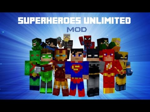 Superheroes Unlimited Mod para Minecraft 1.6.2