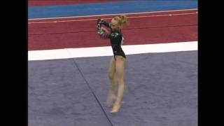 Nastia Liukin (WOGA) - 2007 US Sr Nationals - Floor (Day 2)