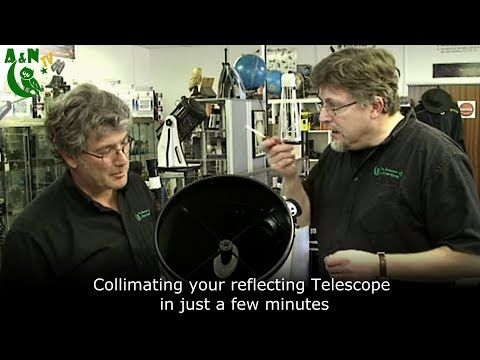 Collimating your reflecting Telescope in just a few minutes