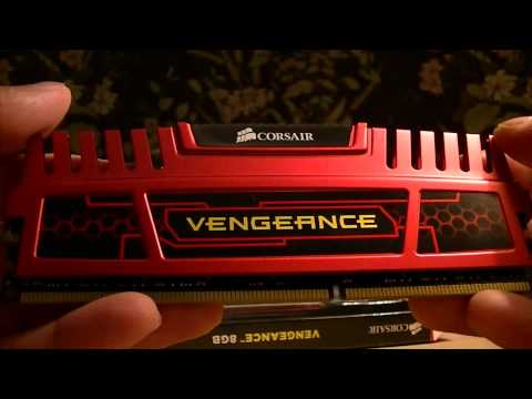 Unboxing: Corsair Vengeance 8GB DDR3 RAM Red