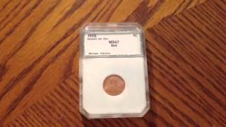 1995 Double Die Obverse Penny MS-67