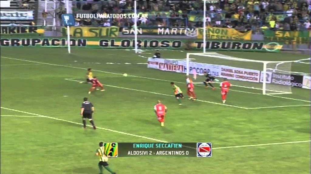 Aldosivi Mar del Plata 2-0 Argentinos juniors