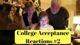 College Acceptance Reactions Compilation 2018 #2