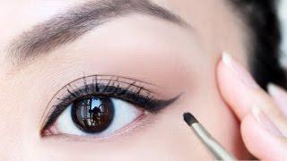 Cách Kẻ Mắt Cơ Bản Cho Người Mới Bắt Đầu -  Winged Eyeliner For Beginner [ VANMIU BEAUTY ]