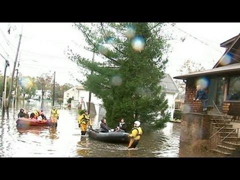 image vid�o نيويورك المدينة العائمة بعد إعصار ساندي