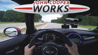 2018 MINI John Cooper Works | TOP SPEED on Autobahn ✔