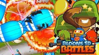 Bloons TD Battles | RING OF FIRE MADNESS! CAN WE DEFEND THESE M.O.A.B.S ?!