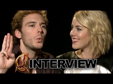 Sam Claflin & Jena Malone: Catching Fire Interview Exclusive
