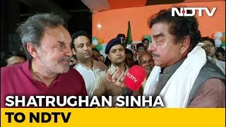"""Advani Ji Was In Tears, Didn't Stop Me From Leaving"": Shatrughan Sinha"