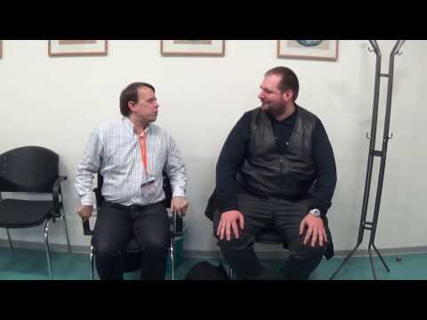 Interview auf der Ticon mit Dave vom Kanal Kantenklotz