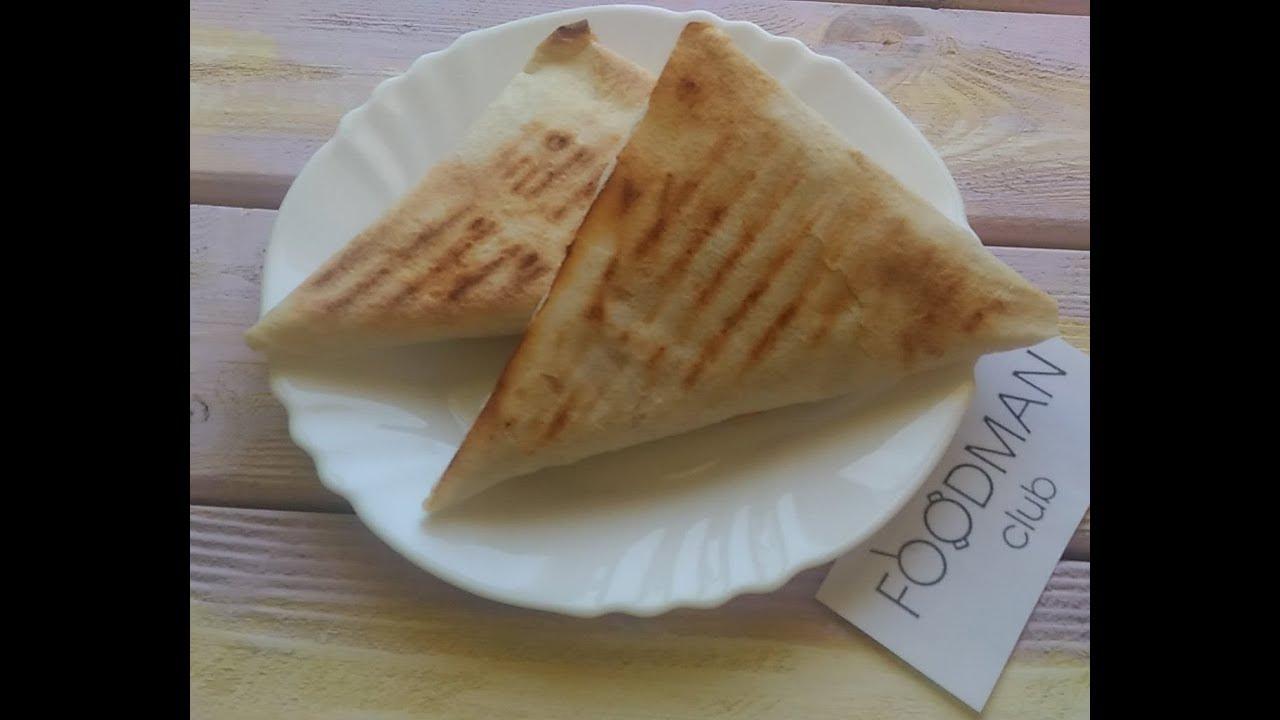Как сделать треугольник из лаваша 198