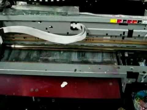 flatbed printer print rear film