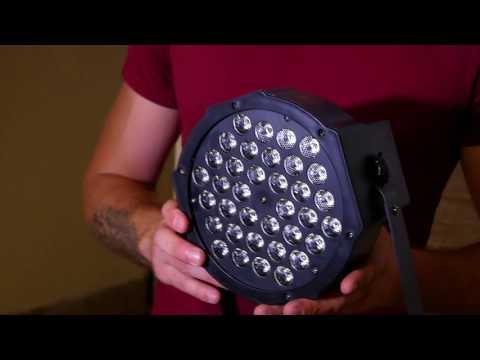 led par 36/ dmx / светомузыка  прожектор для концертов и дискотек