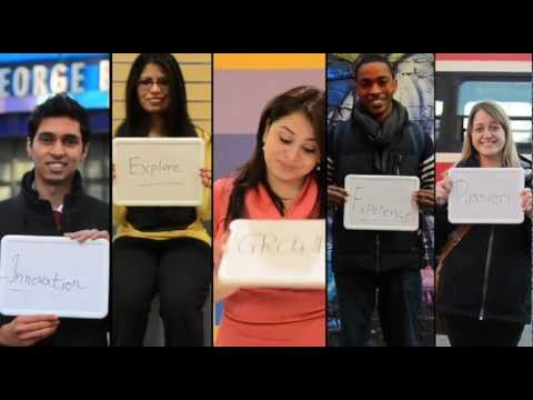 Students at George Brown College View On Partnerships