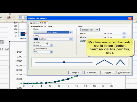 Graficos Open Office Calc
