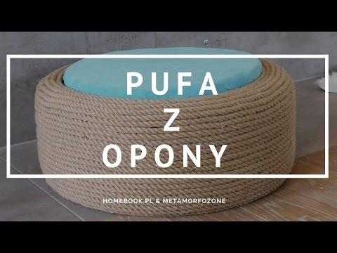 Jak Zrobić Pufę Ze Starej Opony? #diy #pufa