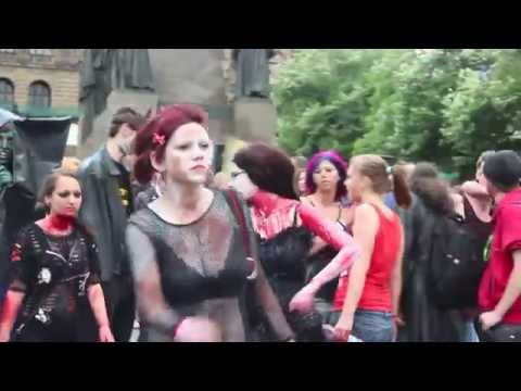 ZOMBIE WALK PRAGUE 2014: JESUS IS ALIVE?
