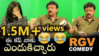 RGV Comedy   Ram Gopal Varma Makes Fun With Swapna   TVNXT Hotshot