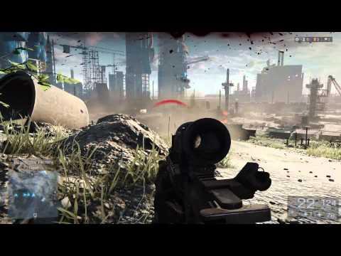 バトルフィールド 4:初公開公式GamePlayビデオ