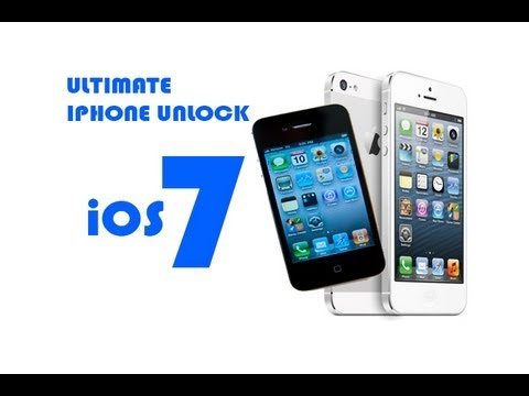 Ultimate iPhone 4 and iPhone 5 Unlock with R sim ios 7
